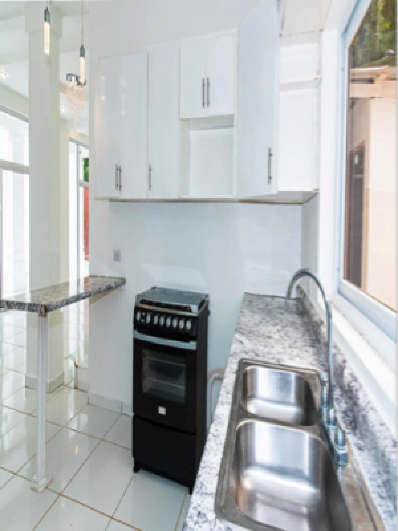 Countertops and oven