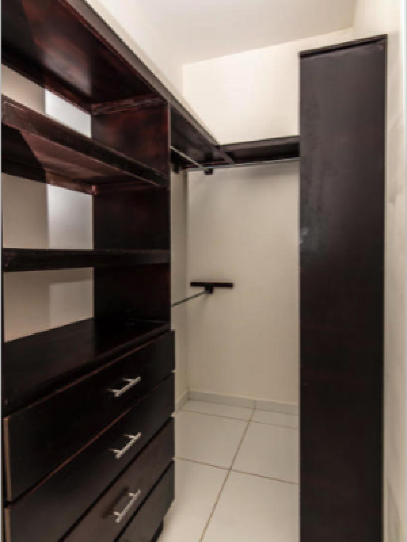 Large Walk-in closet in East bedroom